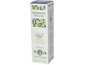Andalou Naturals 0789883 Age Defying Revitalize Serum Fruit Stem Cell - 1.1 fl oz