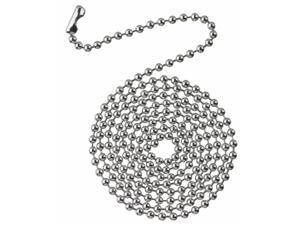 Westinghouse Lighting 7706300 3 ft. Chrome Beaded Chain With Connector