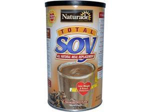 Naturade 0919852 Total Soy Meal Replacement Bavarian Chocolate - 18 oz