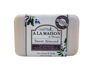 A La Maison 0844654 Bar Soap Sweet Almond - 8.8 oz