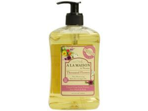 A La Maison 0640466 French Liquid Soap Thousand Flowers - 8.8 fl oz