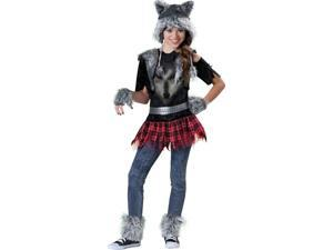 In Character Costumes 212994 Wear Wolf Tween Costume - Black - Size 8-10