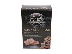 Bradley Technologies BTAL24 Alder Bisquettes 24 Pack
