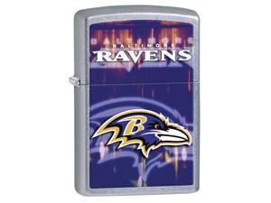 Zippo 28607 Baltimore Ravens Street Chrome Lighter