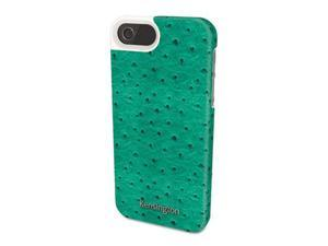 Kensington 39626 Vesto Textured Leather Case, for iPhone 5, Teal
