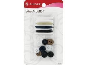 """Singer 7402 3"""" x 0.3"""" x 5.1"""" Sew-A-Button"""