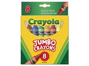 Crayola 520389 So Big Crayons, Large Size, 5 x .56, 8 Assorted Color Box