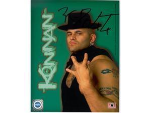 Tristar Productions I0018110 Konnan Autographed Wcw Nwo Wrestling 8X10 Photo
