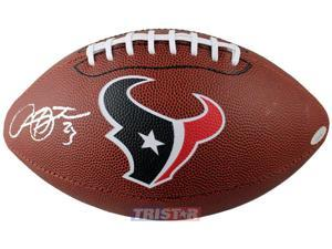 Tristar Productions I0000311 Arian Foster Autographed Houston Texans Logo Football