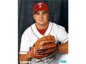 Tristar Productions I0005459 Matt Perisho Autographed Texas Rangers 8x10 Photo
