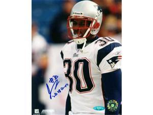 Tristar Productions I0000572 JeRod Cherry Autographed New England Patriots 8x10 Photo