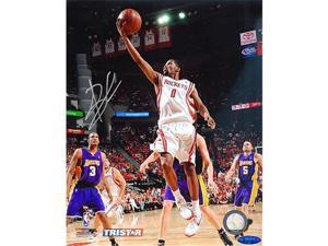 Tristar Productions I0020875 Aaron Brooks Autographed Houston Rockets 8X10 Photo