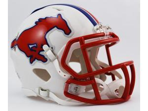 Creative Sports Enterprises, Inc RC-SMU-MR-Speed SMU Southern Methodist Mustangs Riddell Speed Mini Football Helmet