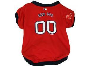 Hunter Mfg DN-3112011 -L Boston Red Sox Dog Jersey - Large