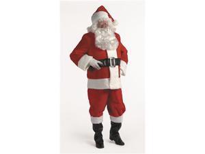 Halco 599XL 10 Piece Complete Santa Suit- Size 50-56 jacket up to 56 waist