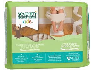 Seventh Generation 7 Gen Training Pnt 3T-4T 22 Ct, Pack of 4