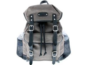 Leatherbay 80115 Padua - Leatherbay Day Backpack, Grey-Black