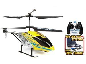 World Tech Toys 35939 Gyro Nano Hercules Unbreakable 3.5CH Electric RTF RC Helicopter