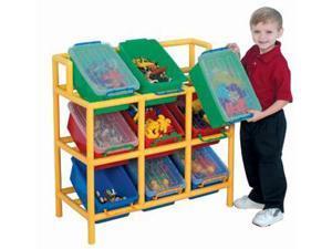 Children s Factory CF905-008 12 Bin Tilt Storage