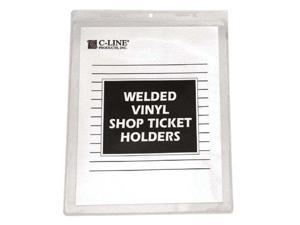 C-Line Products Inc. 179-80912 Shop Ticket Holders- Welded Vinyl 9 X 12- 50- Bx