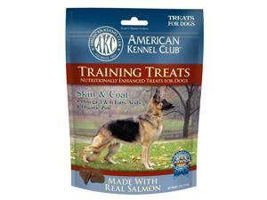 Pet Brands Inc AKCHEL0015 6 Oz Salmon Skin & Coat Training Treats