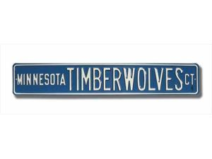 Authentic Street Signs SS-38024 Minnesota Timberwolves Ct Street Sign