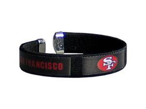 Siskiyou Gifts FRB075 49ers Fan Band Bracelet