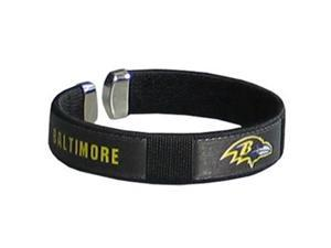 Siskiyou Gifts FRB180 Ravens Fan Band Bracelet