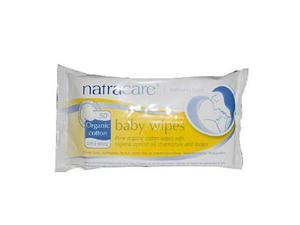 Natracare AY41010 Natracare Organic Cotton Baby Wipes -16x50 Ct
