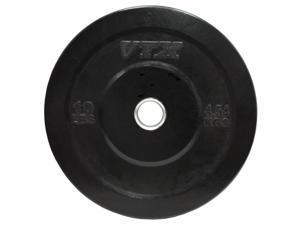 VTX VO-010SBP VTX Black Bumper Plate - 10 lbs.