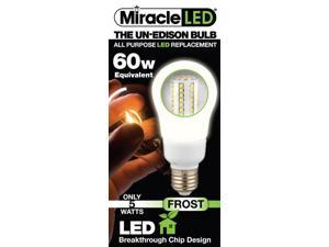 Stimulus Brands 605053 Miracle LED 5 Watt Frosted Bulb in Cool White