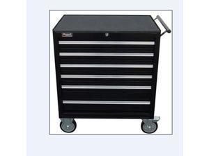 Homak BK04062601 27 Inch Professional 6 Drawer Rolling Cabinet