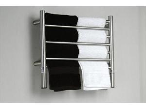 Amba Jeeves HSB-20 Jeeves H Straight Electric Towel Warmer in Brushed