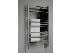 Amba Jeeves CCB-20 Jeeves C Curved Electric Towel Warmer in Brushed