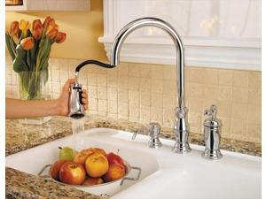 Price Pfister GT526TMC Ashfield Widespread Bathroom Faucet with Double Handles in Chrome