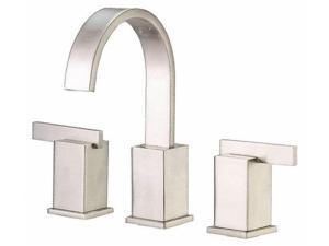 Danze I D304044BN Sirius 8 in. Widespread 2-Handle Mid-Arc Bathroom Faucet in Brushed Nickel