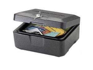 SentrySafe 0500 Fire Safe Security Box Key lock - Black