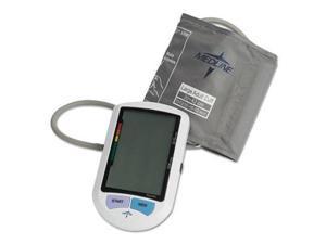 Medline MDS3001LA Automatic Digital Upper Arm Blood Pressure Monitor, Large Adult Size