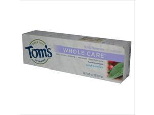 Toms Of Maine Whole Care Toothpaste Wintermint - 4.7 Oz