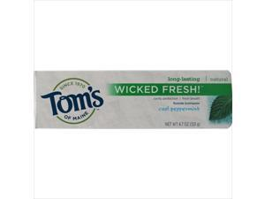 Toms Of Maine Wicked Fresh Toothpaste Cool Peppermint - 4.7 Oz