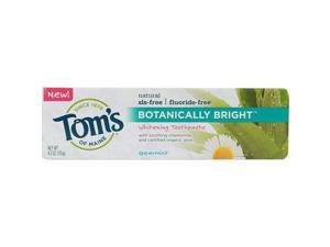 Toms Of Maine Botanically Bright Whitening Toothpaste Spearmint - 4.7 Oz