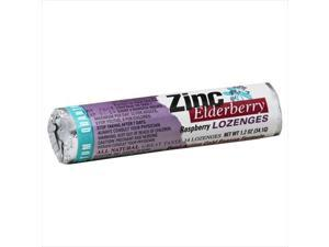 Quantum Zinc L Ozenges Elderberry Raspberry - 1.2 Oz -, Pack of 12