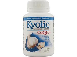 Kyolic Aged Garlic Extract Coq10 Formula 110 - 100 Capsules