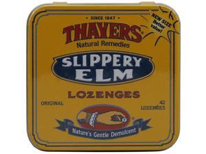 Thayers Slippery Elm L Ozenges Original - 42 L Ozenges -, Pack of 10