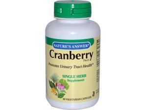 Natures Answer Cranberry Fruit - 90 Vegetarian Capsules