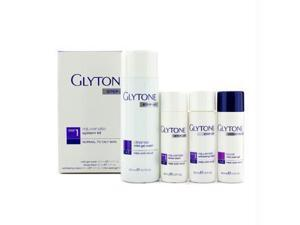Rejuvenate System Kit: Gel Wash 200ml + Facial Lotion 60ml + Exfoliating Lotion 60ml + Peel Gel 60ml  (Normal to Oily Skin) - 4pcs