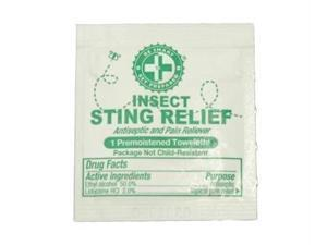 Guardian FASR CS Sting Relief Prep Pads - 100 packets