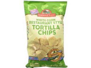 Organic Fiesta White Chips -Pack of 10