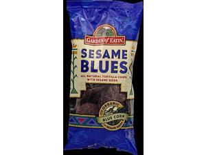 Organic Blue Corn Sesame Chips, Pack of 12