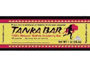 Tanka Natural Buffalo Cranberry Bar 1 Oz -, Pack of 12